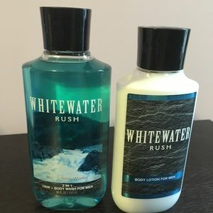 Whitewater rush from Bath and Body Works
